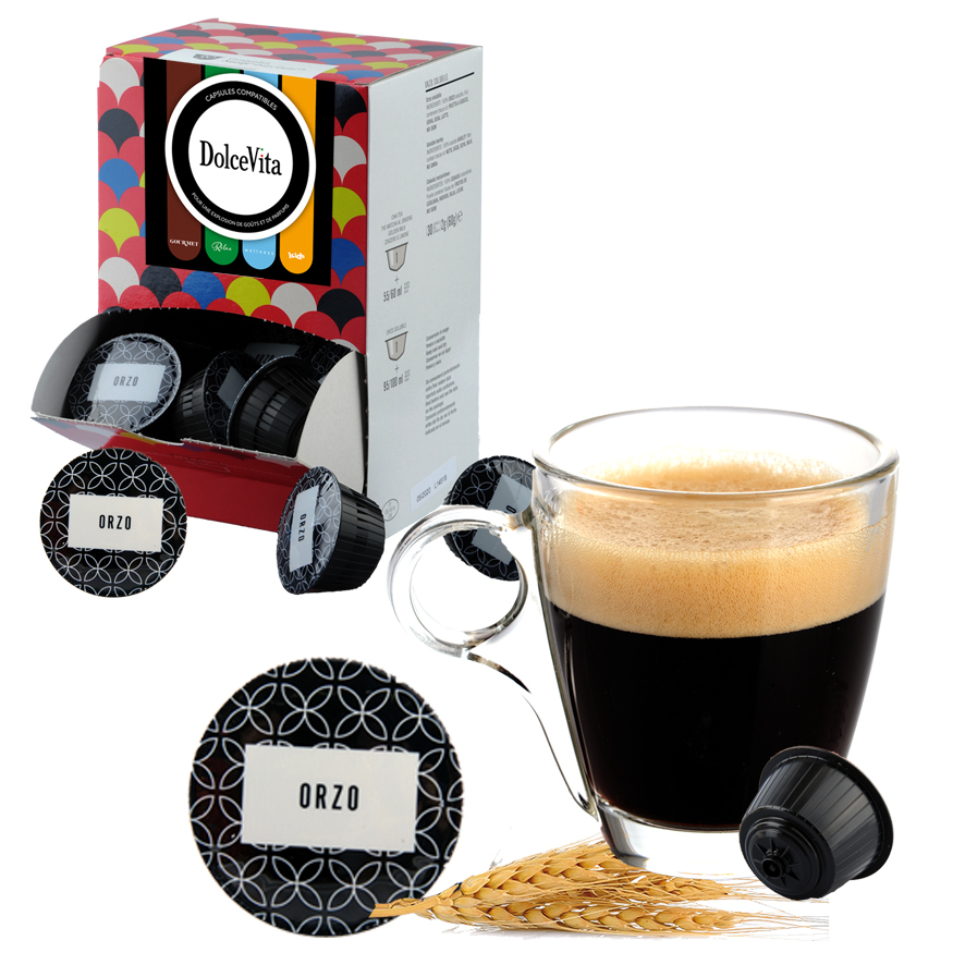 ORGE Soluble (ORZO Solubile) professional  compatible Dolce Gusto® HoReCa DolceVita