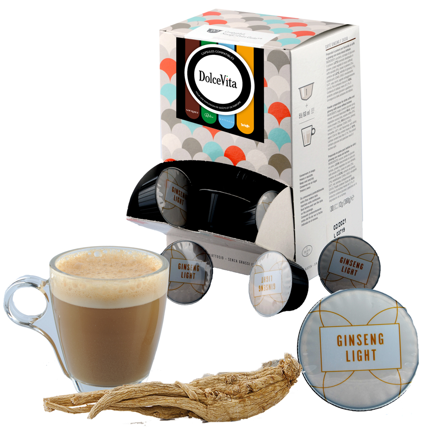 Ginseng Light  professional  compatible Dolce Gusto® HoReCa  DolceVita