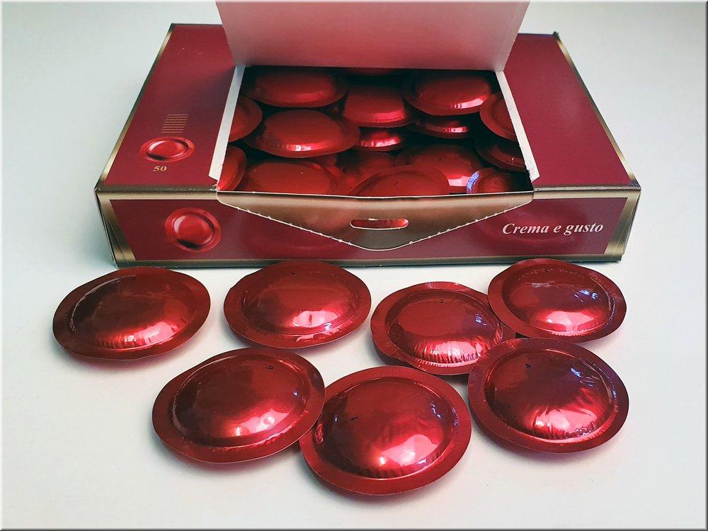 Capsule  Business   (Compatibile Nespresso®) crema & gusto  50 caps