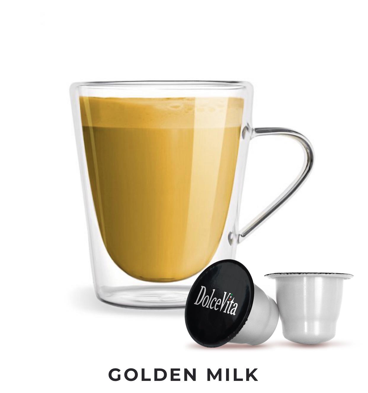 GOLDEN MILK Curcuma( Wellness  compatible Nespresso® 10caps )