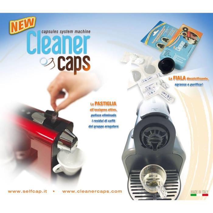 Kit de nettoyage complet pour machines Nespresso et  compatibles machine