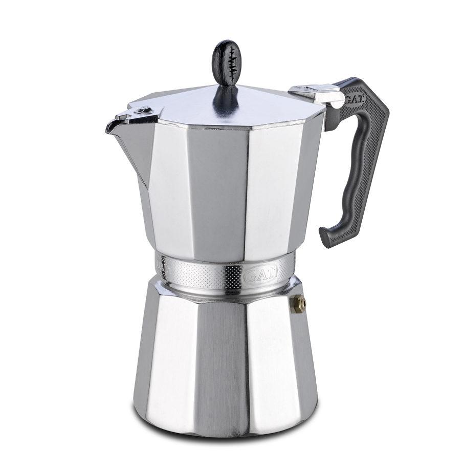 Cafetière 24 tasses   Induction G.A.T. LADY ORO gaz, plaque électrique, vitrocéramique,