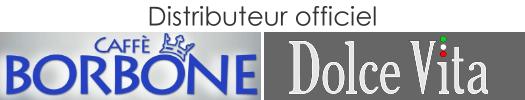Cafés Borbone et Dolce Vita