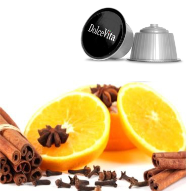 16x Tisane Orange et Cannelle Relax compatibles Dolce Gusto®