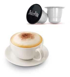 Gourmet Cappuccino Classique compatible Nespresso* de 10 capsules