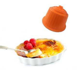Creme brulee compatible Dolce Gusto 16 capsule